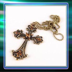 Jewelry - ! Last One ! Cross Necklace